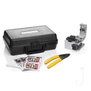 Leviton FastCAM Connector Opt-X Tool Kit: Opt-X Fiber Cleaver, Buffer Removal Tool, Lint-Free Wipes, Alcohol... by Leviton