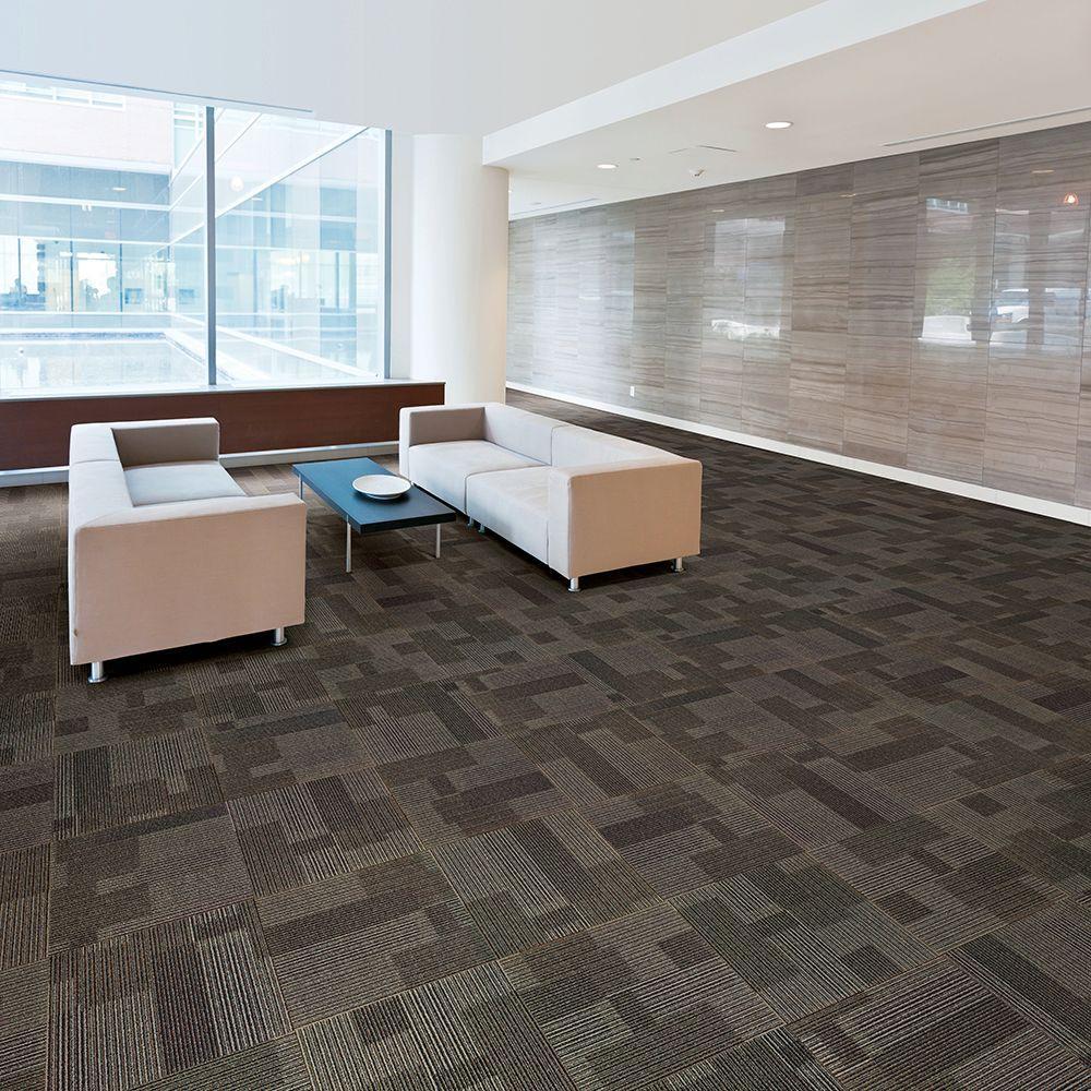 Rockefeller Wolf Loop 19.7 in. x 19.7 in. Carpet Tile (20 Tiles/Case)