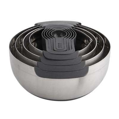 Nest 100 Stainless Steel Mixing Bowl Set (9-Piece)