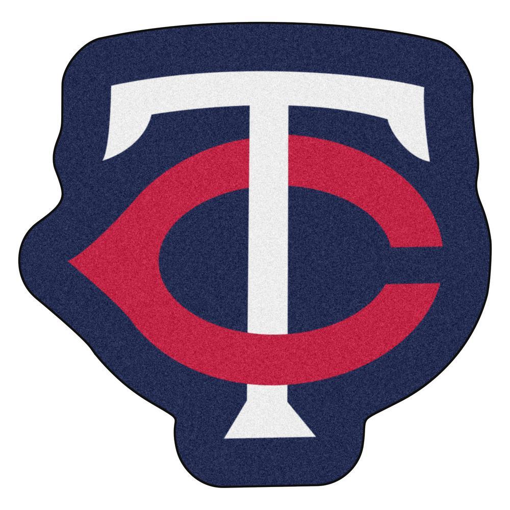 MLB - Minnesota Twins 30.5 in. x 30 in. Indoor Area Rug Mascot Mat