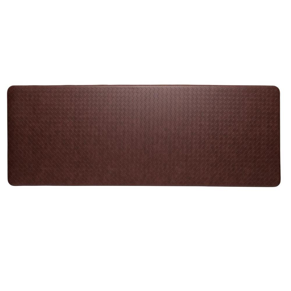 IMPRINT Comfort Mat Nantucket Cinnamon 26 in. x 72 in. Anti-Fatigue Comfort Mat