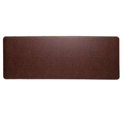 Nantucket Cinnamon 26 In. X 72 In. Anti Fatigue Comfort Mat