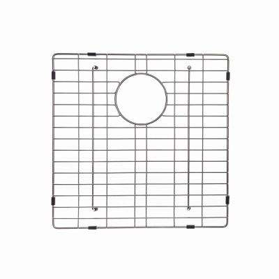 Stainless Steel Bottom Grid for KHF203-33 Left Bowl 33in. Farmhouse Kitchen Sink, 17 1/8in. x 15 9/16in. x 1 3/8in.