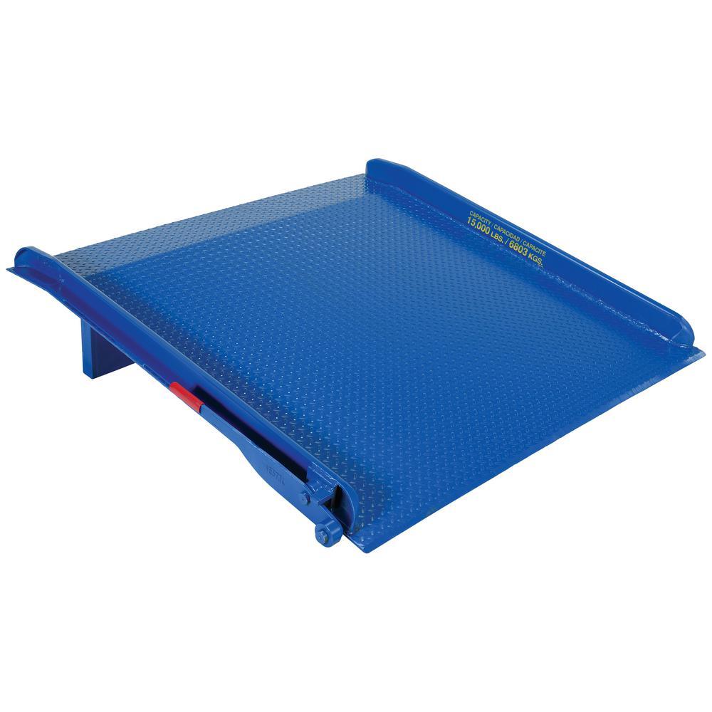 20,000 lb. 72 in. x 66 in. Steel Truck Dock Board