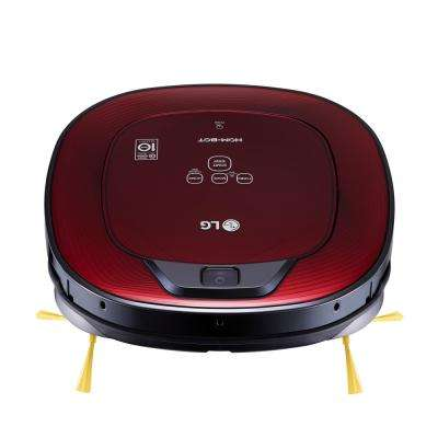 Hom-Bot Smart Robotic Vacuum Cleaner with WiFi Enabled in Ruby Red