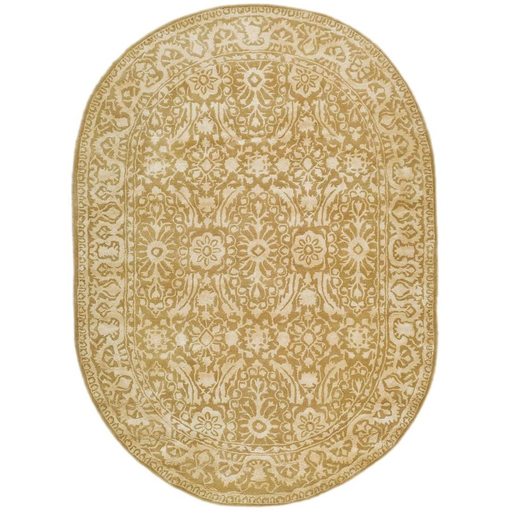 Safavieh Silk Road Ivory 7 ft. 6 in. x 9 ft. 6 in. Oval Area Rug