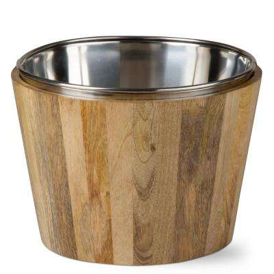 Malaya Mango Wood Wine Bucket