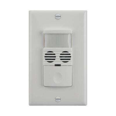 120 - 277 Volt Multi-Technology Occupancy/Vacancy Passive Infrared and Ultrasonic Motion Sensor