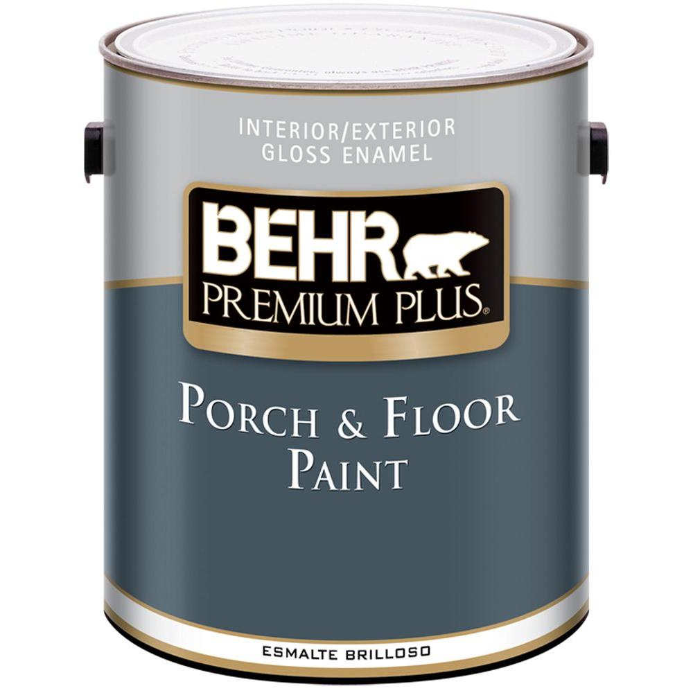 BEHR Premium 1 Gal. Gloss Medium Base Porch And Floor Paint