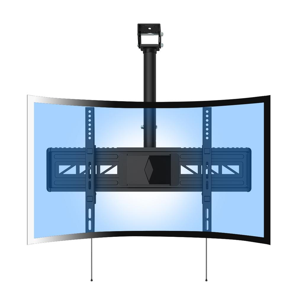 Loctek CM3 Full Motion Ceiling Curved TV Mount Fits Most 32 in. -65 in.