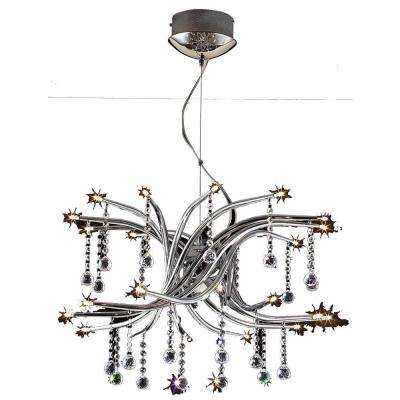 Xavier 24-Light Clear Chandelier