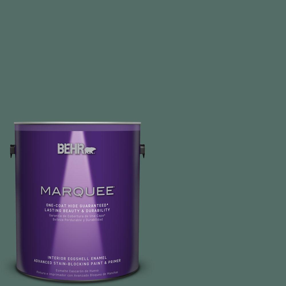 BEHR MARQUEE 1 gal. #MQ6-39 Chelsea Garden One-Coat Hide Eggshell Enamel Interior Paint