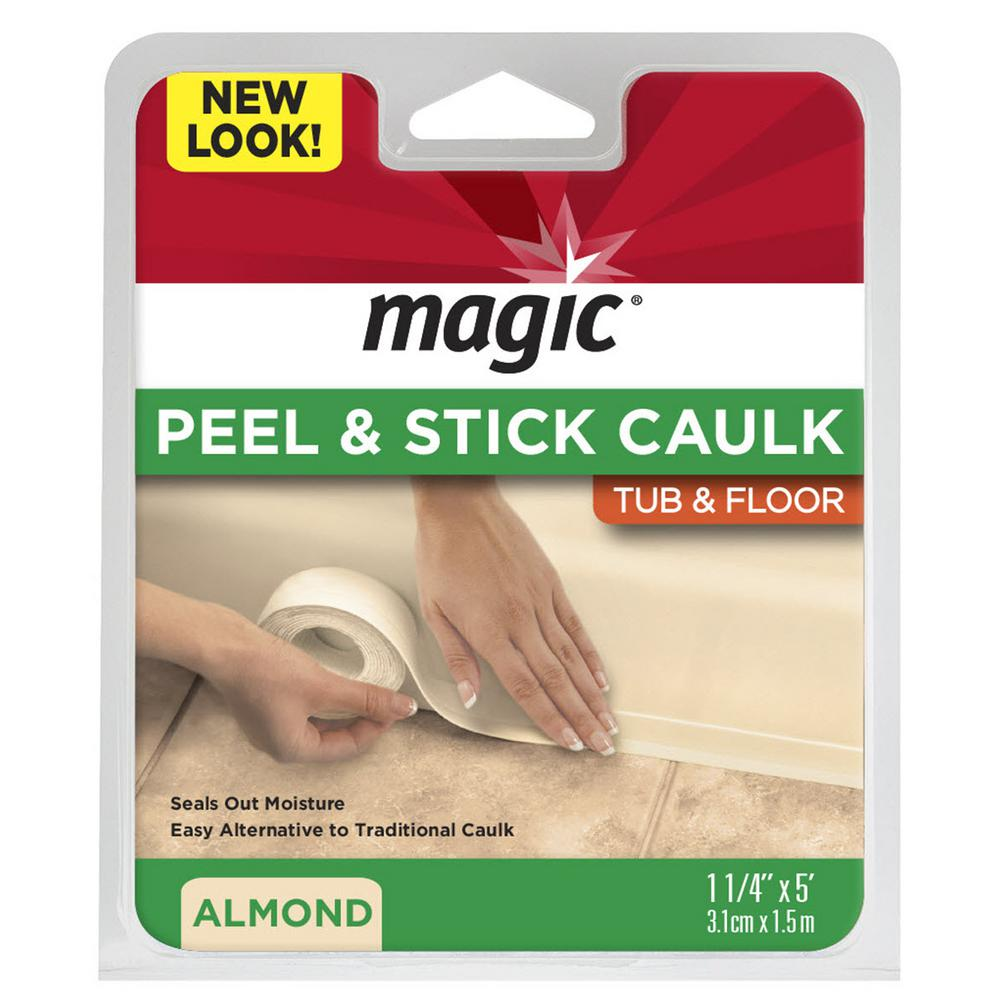 1-1/4 in. x 5 ft. Tub and Floor, Peel and Stick