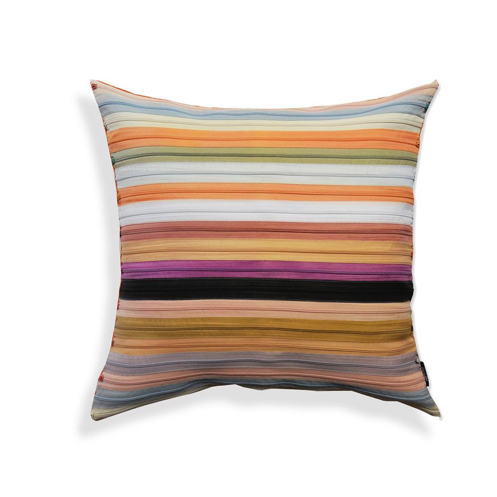 A1HC Potpourri Zippered 100% Cotton 18 in. x 18 in. Decorative Pillow