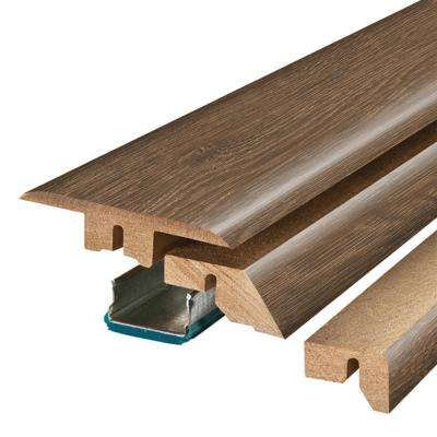 Kona Acacia 3/4 in. Thick x 2-1/8 in. Wide x 78-3/4 in. Length Laminate 4-in-1 Molding
