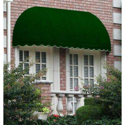 12 ft. Chicago Window/Entry Awning (31 in. H x 24 in. D) in Forest