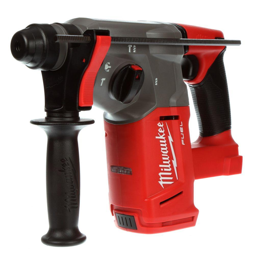Milwaukee M18 FUEL 18-Volt Lithium-Ion Brushless Cordless 1 inch SDS-Plus Rotary Hammer (Tool-Only)