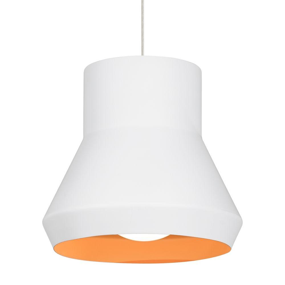 LBL Lighting Milo White Suspension Light