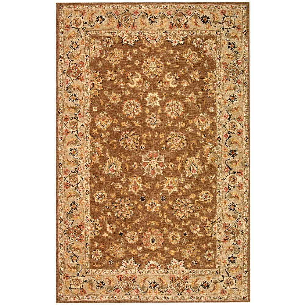 Safavieh Chelsea Brown/Ivory 3 ft. 9 in. x 5 ft. 9 in. Area Rug