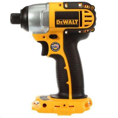 18-Volt 1/4 in. (6.4 mm) Cordless Impact Driver (Tool-Only)