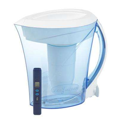 8-Cup Water Filter Pitcher