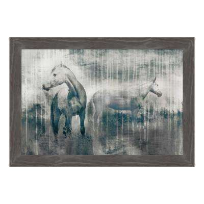 """Grey Serenade"" by Edward Selkirk Framed Canvas Wall Art"