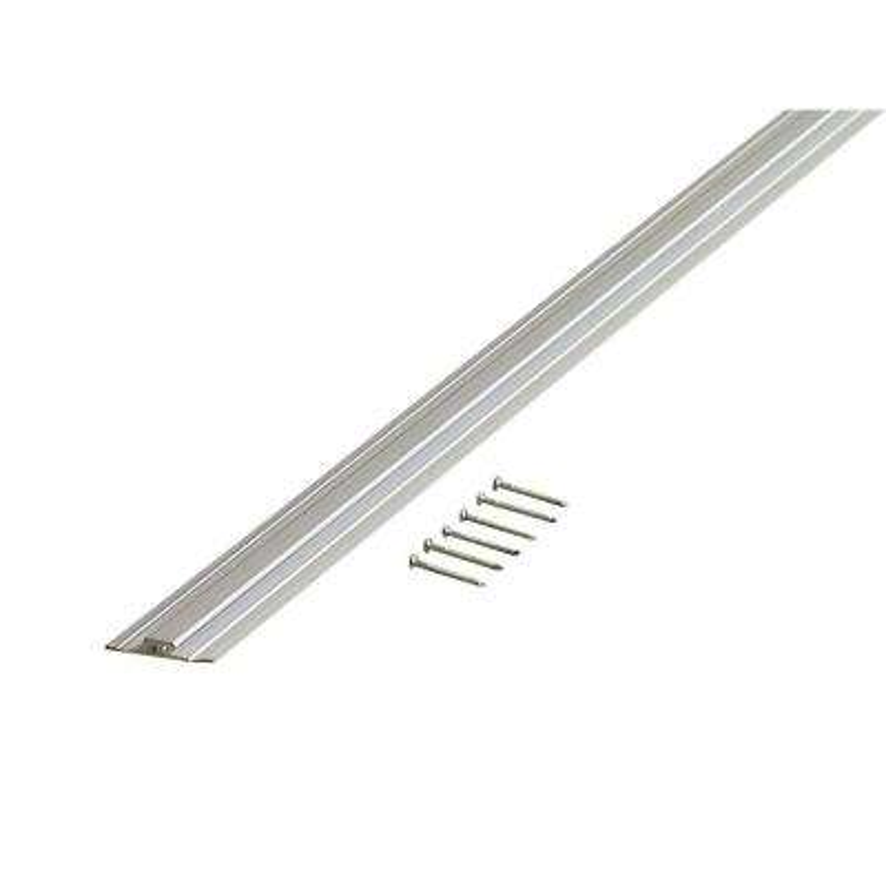 72 in. Decorative Aluminum Divider A160 in Anodized