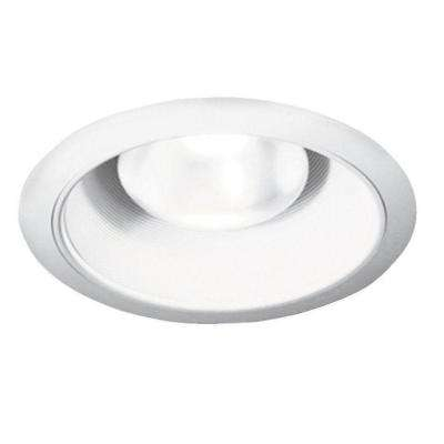 600 Series 7 in. Recessed White Baffle Light Fixture Kit