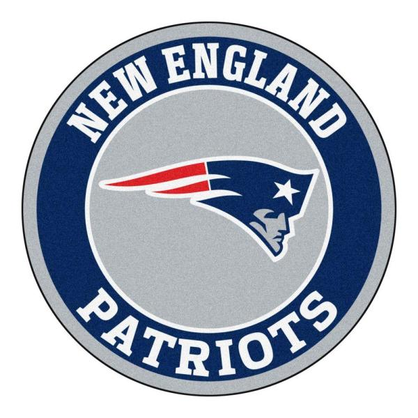 Patriots//Jets Rug Black NFL House Divided 34 x 45//Small