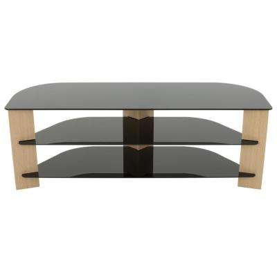 Varano Oak TV Stand for TVs up to 65 in.