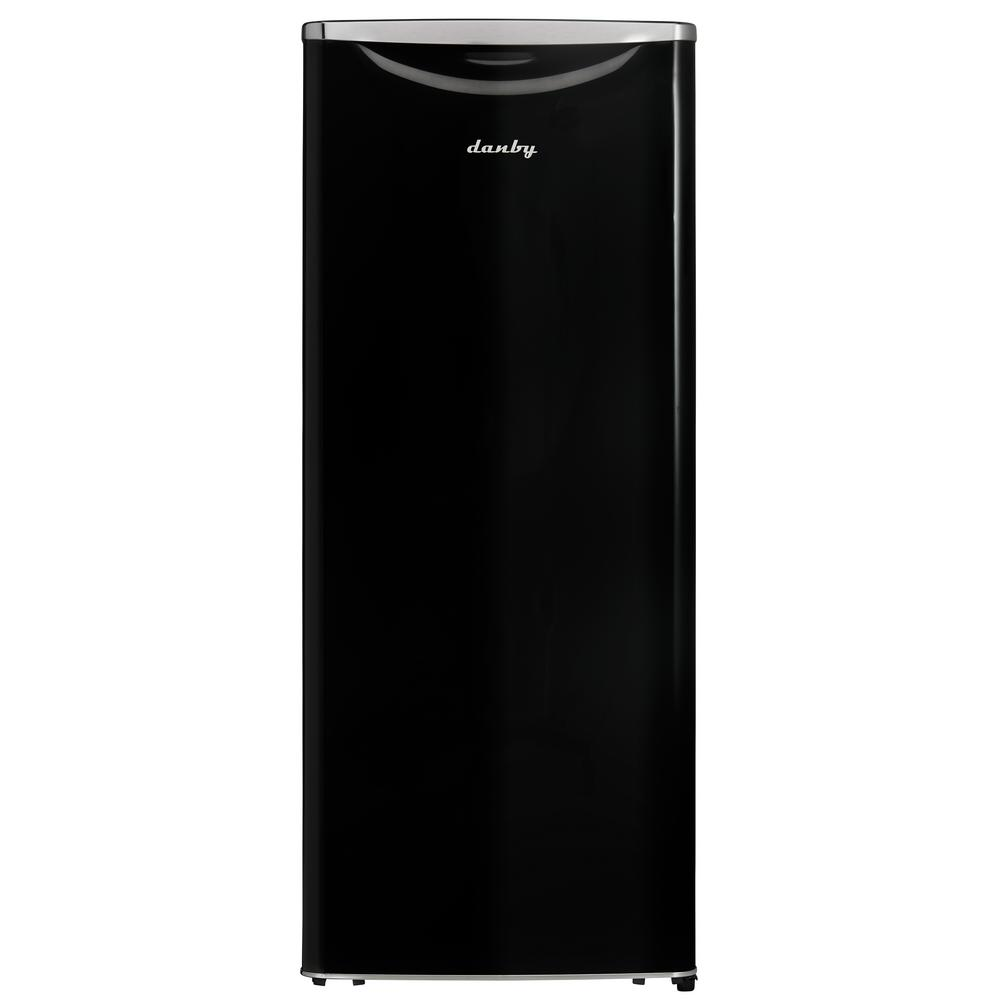 Danby Contemporary Classic 24 in. W 11.0 cu. ft. Freezerless Refrigerator in Black, Counter Depth
