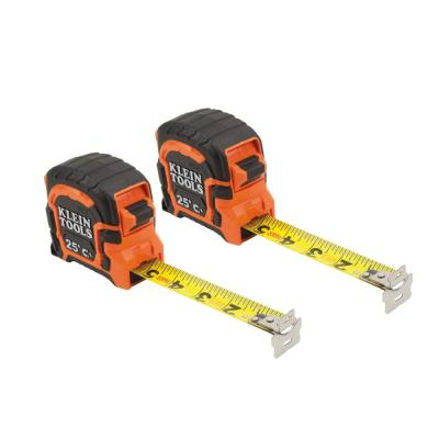 25 ft. Double-Hook Magnetic Tape Measure (2-Pack)