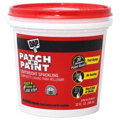 Patch-N-Paint 32 oz. Premium-Grade Lightweight Spackling