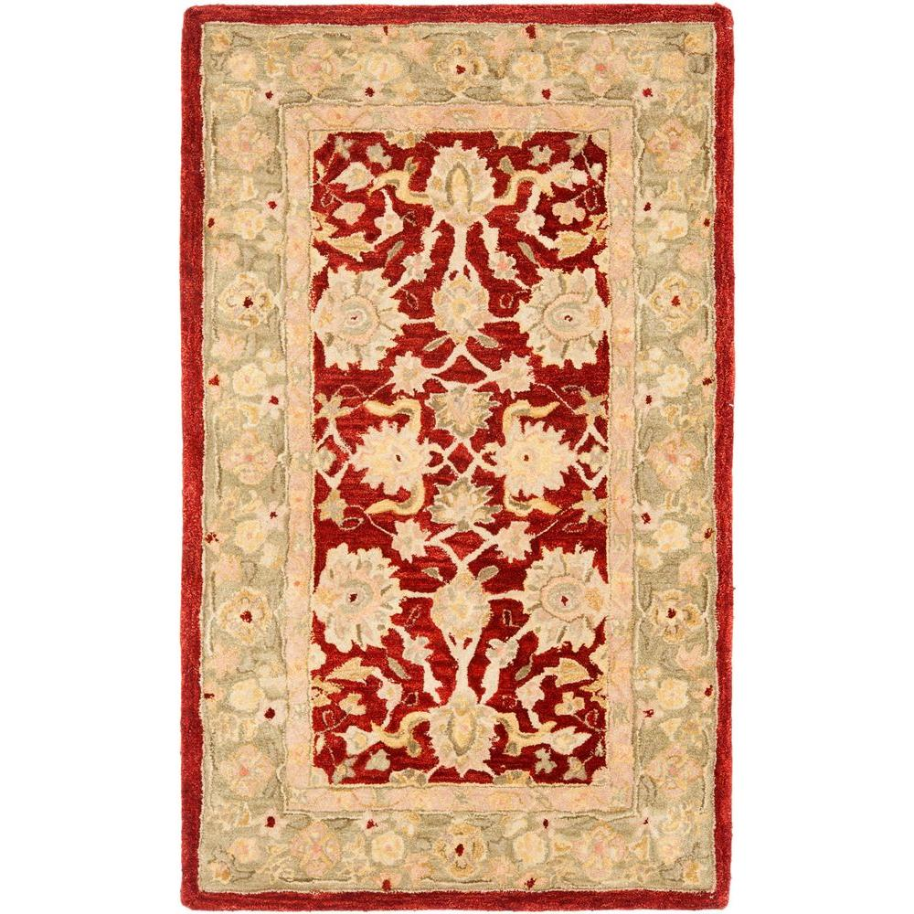 Safavieh Anatolia Red/Moss 3 Ft. X 5 Ft. Area Rug-AN522D-3
