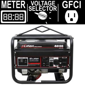 LIFAN Pro Series 4,000-Watt 212cc Gasoline Powered Portable Generator by LIFAN