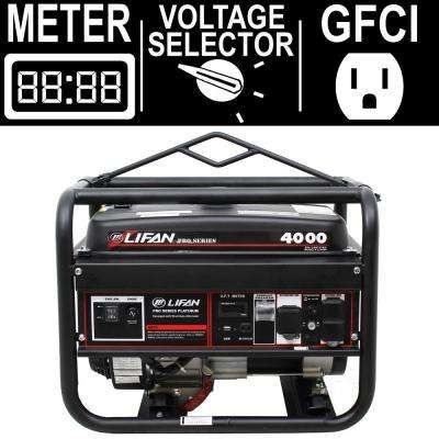 Pro Series 4,000/3,500-Watt Gasoline Powered Portable Generator