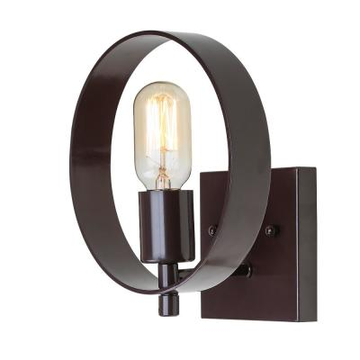 1-Light Bronze Wall Sconce