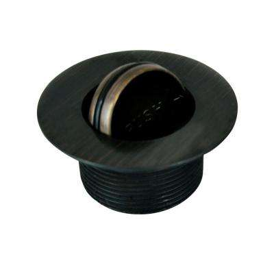 1.865 in. Overall Diameter x 11.5 Threads x 1.25 in. PresFlo Bathtub Closure, Oil-Rubbed Bronze