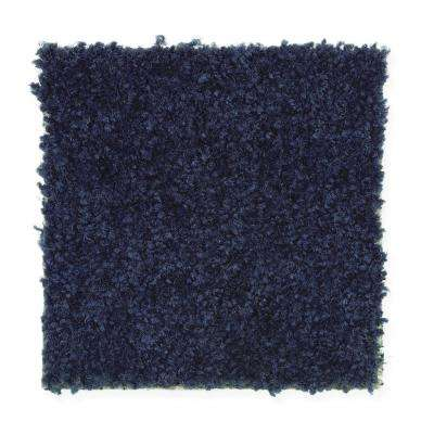 Carpet Sample- Thoroughbred- Color Blue Jeans 8 in. x 8 in.