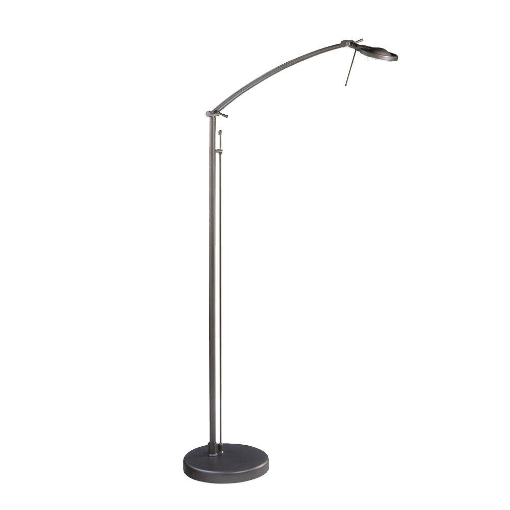 Attractive Oil Rubbed Bronze Halogen Floor Lamp