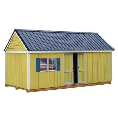 Brookhaven 10 ft. x 20 ft. Storage Shed Kit with Floor Including 4 x 4 Runners