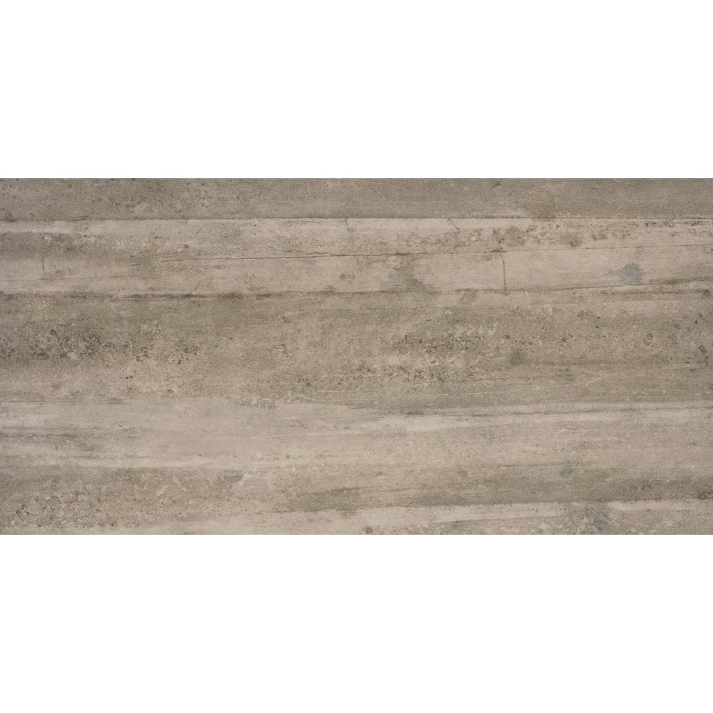 Emser Cassero Ii Moka 11 81 In X 23 62 In Matte Concrete Look Porcelain Floor And Wall Tile 11 628 Sq Ft Case 1816589 The Home Depot
