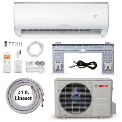 Climate 5000 Energy Star 18,000 BTU 1.5 Ton Ductless Mini Split Air Conditioner and Heat Pump - 230-Volt/60 Hz
