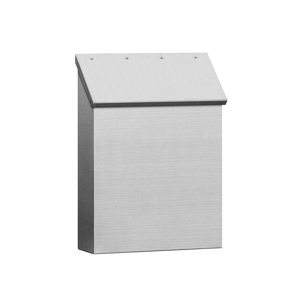 Salsbury Industries 4500 Series Stainless Steel Standard Vertical Mailbox