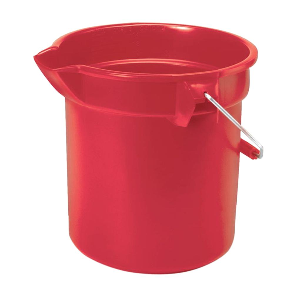 14 Qt. Red Plastic Bucket