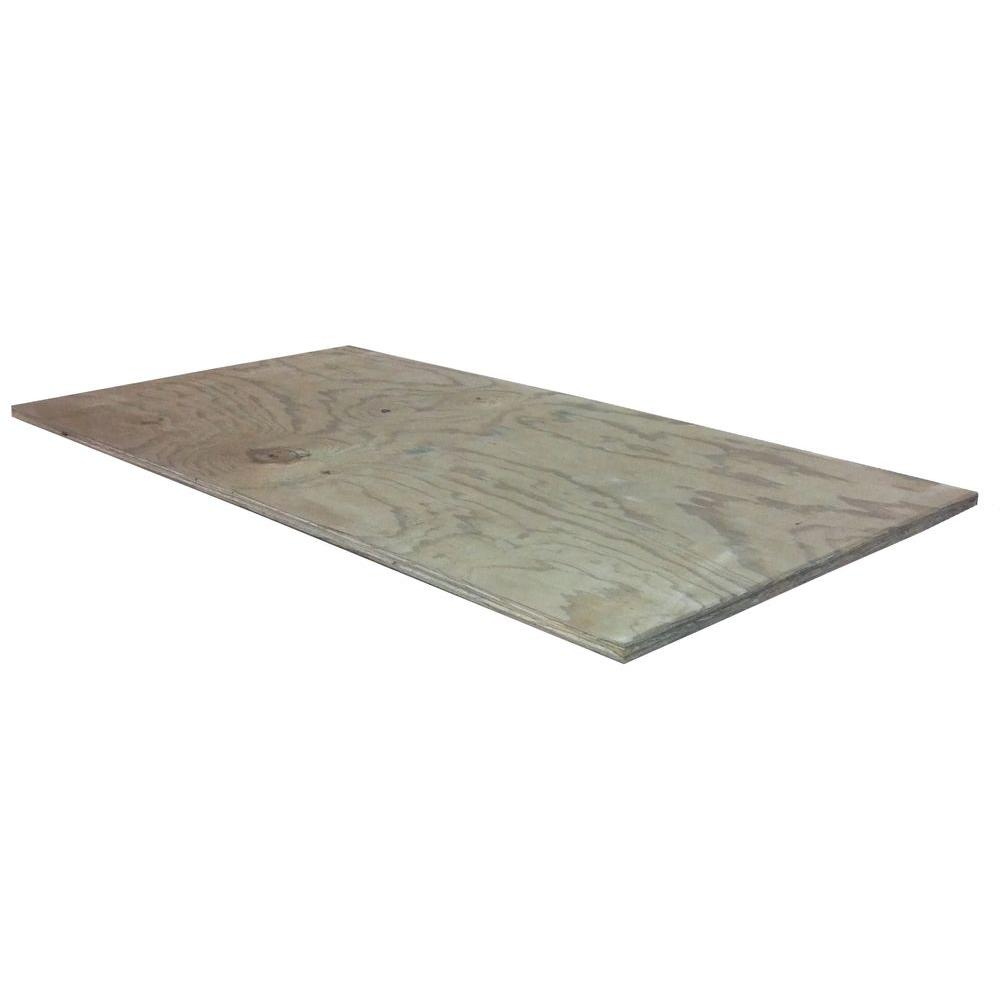 23/32 in. x 2 ft. x 4 ft. Treated Pine-1500124 - The Home Depot