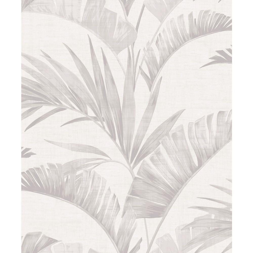 Arthouse Linen Woven Effect Mid Grey 676007 Wallpaper
