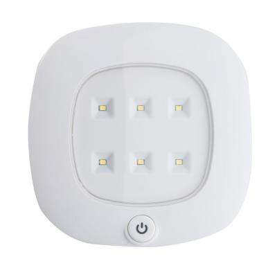 White Wireless Integrated LED Ceiling Light