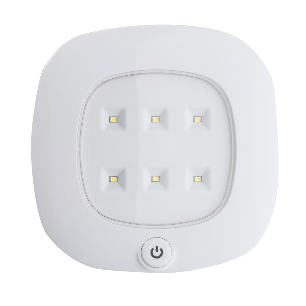 Wireless Home Lighting: Light It! White Wireless Integrated LED Ceiling Light