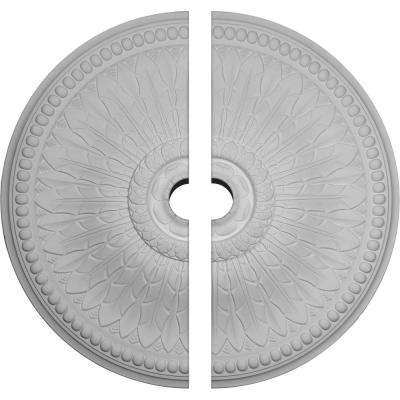 42-1/2 in. O.D. x 4-1/2 in. I.D. x 4-5/8 in. P Springtime Ceiling Medallion (2-Piece)
